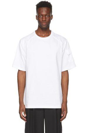 JUUN.J Men T-shirts - Logo Sleeve-Pocket T-Shirt
