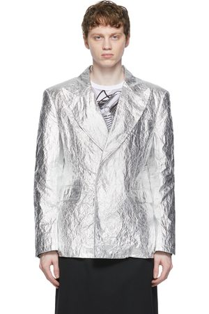 Comme des Garçons Men Blazers - Aluminum Cloth Blazer