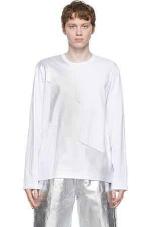 Comme des Garçons Men Long Sleeve - Jersey x Laminate Long Sleeve T-Shirt