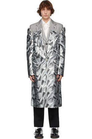 Comme des Garçons Men Coats - Layered Inkjet Print Coat