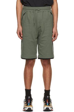 C.P. Company Fleece Diagonal Raised Shorts