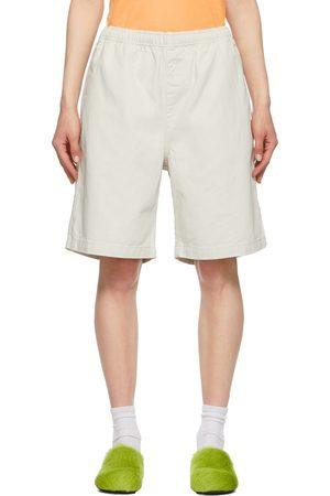 STUSSY Off- Brushed Beach Shorts
