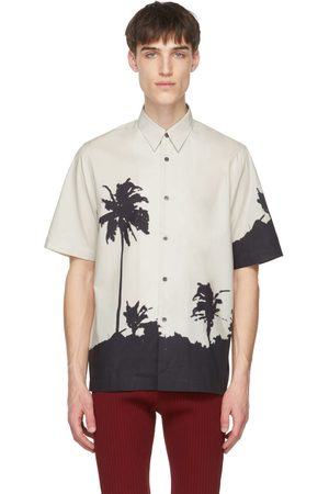 DRIES VAN NOTEN Off- and Len Lye Edition Tattoo Short Sleeve T-Shirt
