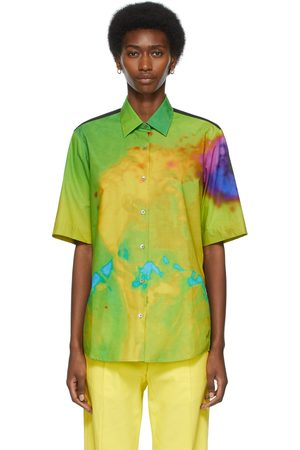 DRIES VAN NOTEN Len Lye Edition Graphic Short Sleeve Shirt