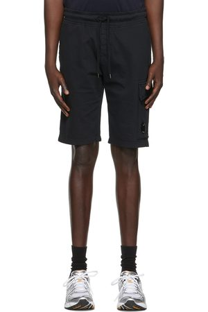 C.P. Company Light Jersey Garment Dyed Cargo Shorts