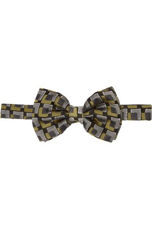 DRIES VAN NOTEN And Silk Squares Bow Tie