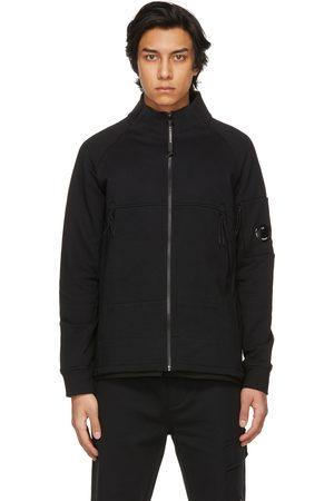 C.P. Company Diagonal Raised Fleece Zipped Sweatshirt