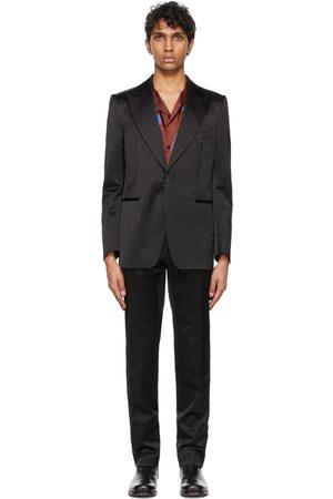 DRIES VAN NOTEN Men Suits - Satin Tuxedo
