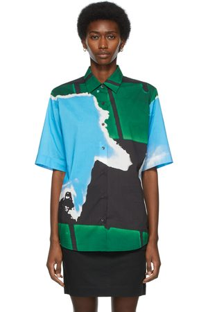 DRIES VAN NOTEN And Len Lye Edition Graphic Short Sleeve Shirt