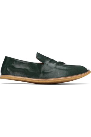 DRIES VAN NOTEN Men Loafers - Crinkled Leather Loafers