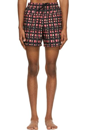 DRIES VAN NOTEN And Len Lye Edition Graphic Swim Shorts