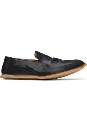 DRIES VAN NOTEN Crinkled Leather Loafers
