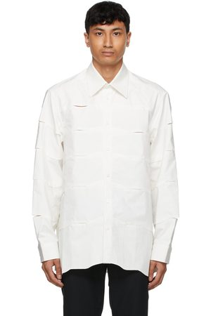 Cornerstone Poplin Cutout Shirt