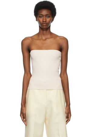 Arch The Off- Ribbed Tube Top