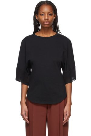 See by Chloé Pleated Sleeves T-Shirt
