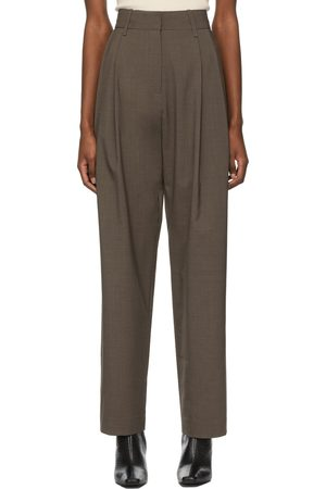 Arch The Wool Two Pleats Trousers