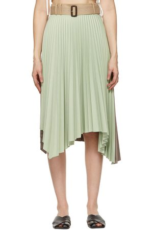 Andersson Bell And Joanna 50/50 Pleats Skirt