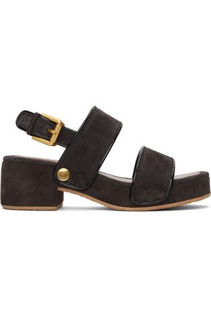 See by Chloé Suede Galy Sandals