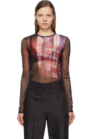 Andersson Bell Women Long Sleeve - Mesh Film Archive Long Sleeve T-Shirt
