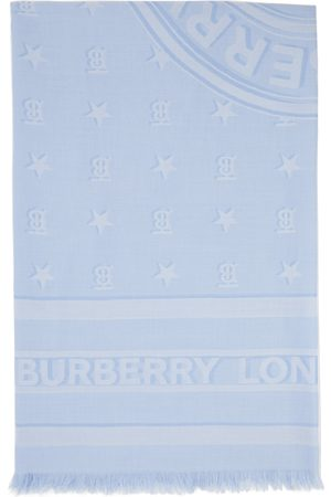 Burberry Silk Monogram Scarf