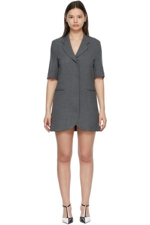 Georgia Alice Women Party Dresses - SSENSE Exclusive Grey Boy Mini Dress
