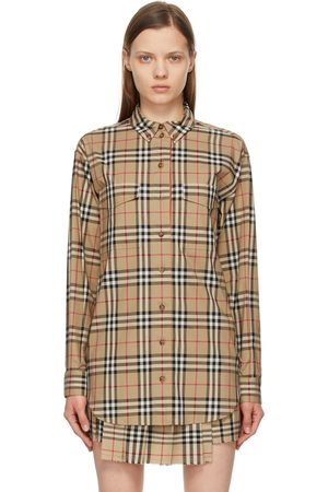 Burberry Vintage Check Oversized Turnstone Shirt