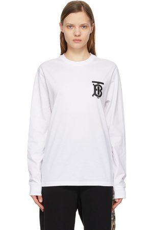 Burberry Women Long Sleeve - Monogram Atherton Long Sleeve T-Shirt