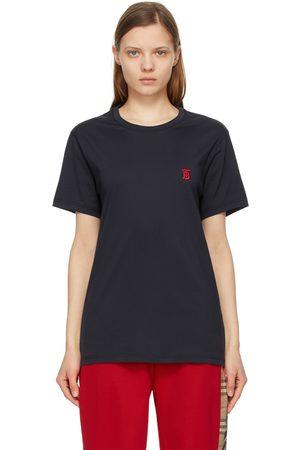 Burberry Navy TB Monogram Parker T-Shirt