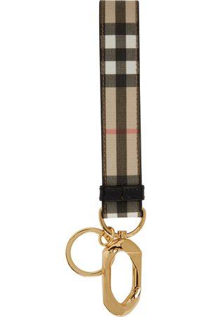 Burberry Vintage Check Charm Keychain