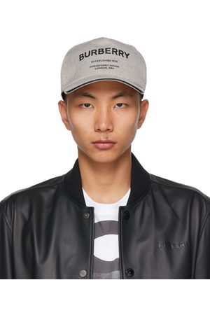 Burberry And Canvas Horseferry Baseball Cap