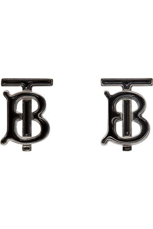 Burberry And Silver TB Cufflinks