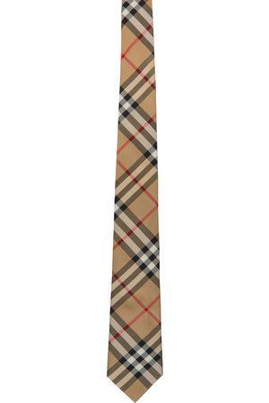 Burberry Silk Vintage Check Modern Cut Tie