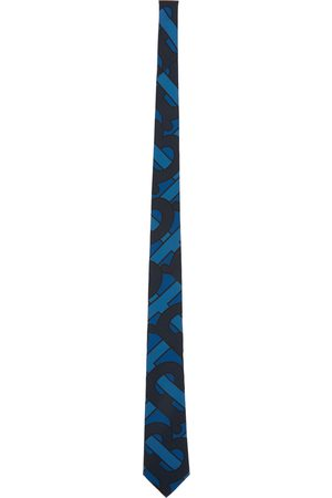 Burberry Silk Monogram Classic Cut Tie
