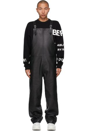 Burberry Leather Shark Fin Overalls