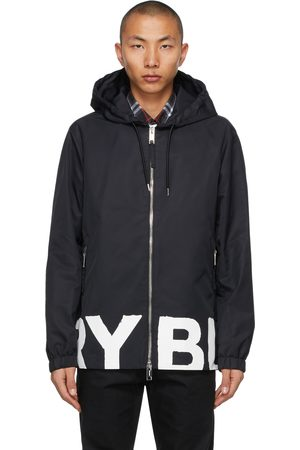 Burberry Logo Print Stretton Jacket