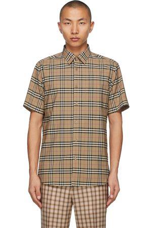 Burberry Check Simpson Short Sleeve Shirt
