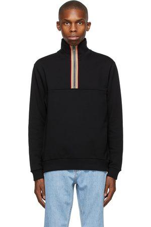 Burberry Icon Stripe Half-Zip Sweatshirt
