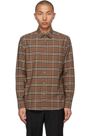 Burberry Poplin Check Shirt