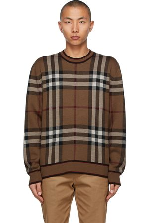 Burberry Check Naylor Sweater