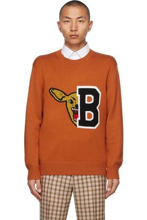 Burberry Varsity Graphic Ivie Sweater