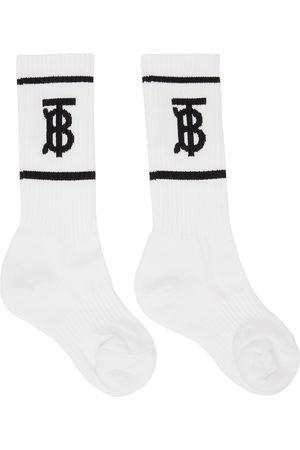 Burberry Intarsia Monogram Socks