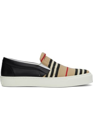 Burberry And Icon Stripe Thompson Sneakers
