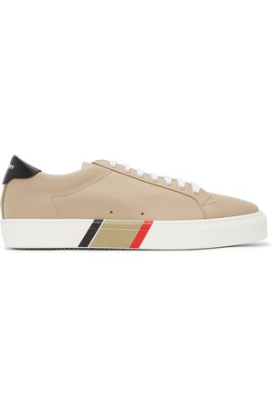 Burberry Bio-Based Striped Sole Sneakers