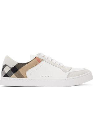 Burberry Check Reeth Sneakers
