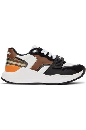 Burberry And Vintage Check Ramsey Low Sneakers