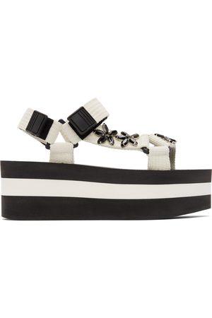 Marni Women Platform Sandals - Embellished Platform Sandals
