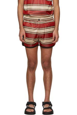 Marni Men Shorts - Striped Shorts