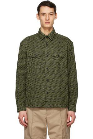 Kenzo Khaki Wave Shirt