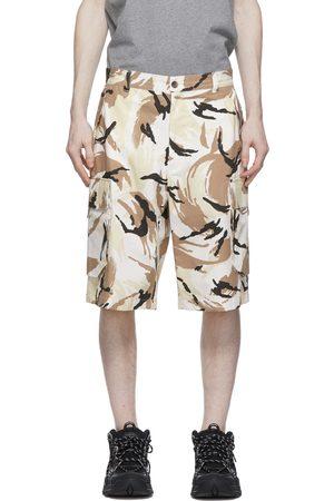 Kenzo Men Shorts - Camo Cargo Shorts