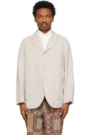 Beams Men Blazers - Herringbone Work Jacket